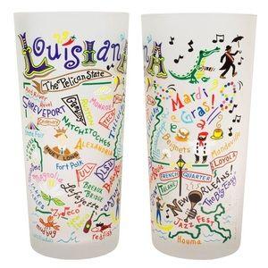 Catstudio Louisiana Drinking Glass